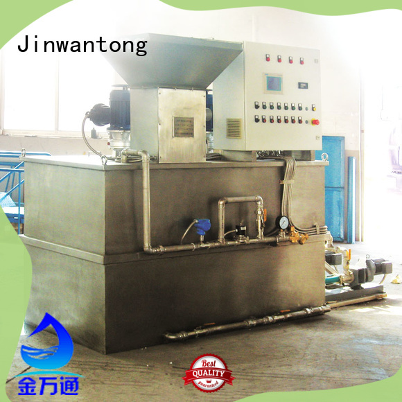 Jinwantong automatic chemical dosing system wholesale for mix water and chemicals