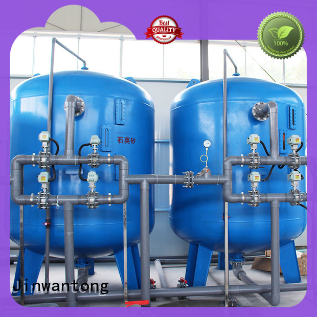 Jinwantong pressure sand filter factory for grit removal