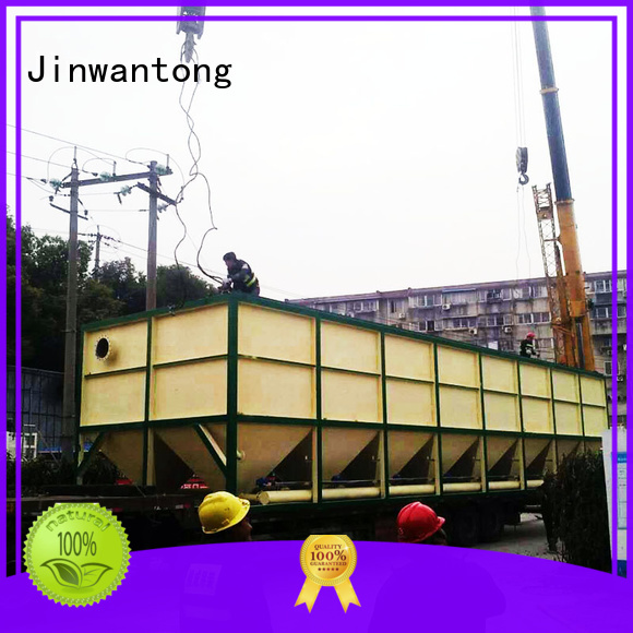 Jinwantong waste water treatment plant manufacturer from China for heavy metal remove