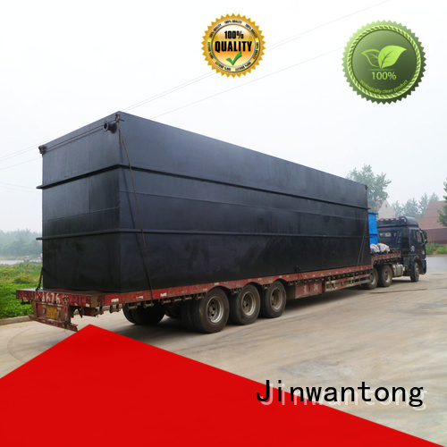 Jinwantong package sewage treatment plant suppliers directly sale for hotel