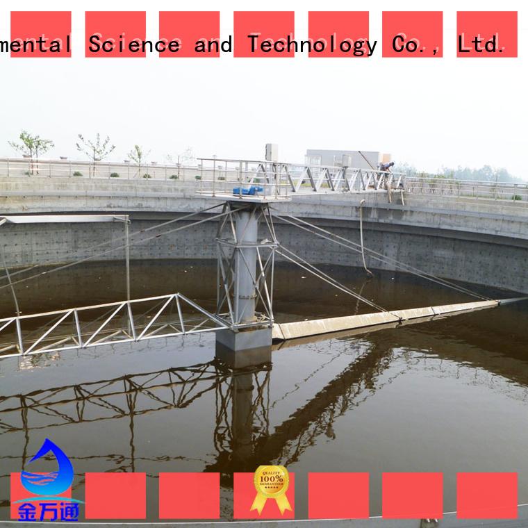 Jinwantong efficient sludge scraper system manufacturer for final sedimentation tank