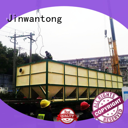 Jinwantong practical waste water treatment plant manufacturer factory price for heavy metal remove