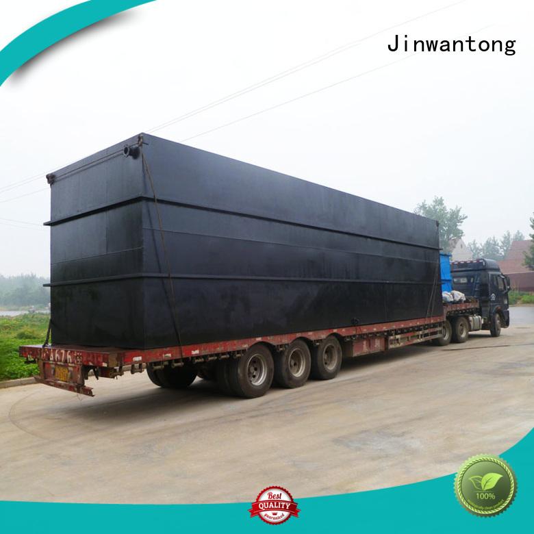 Jinwantong professional sewage treatment plant design factory for hotel