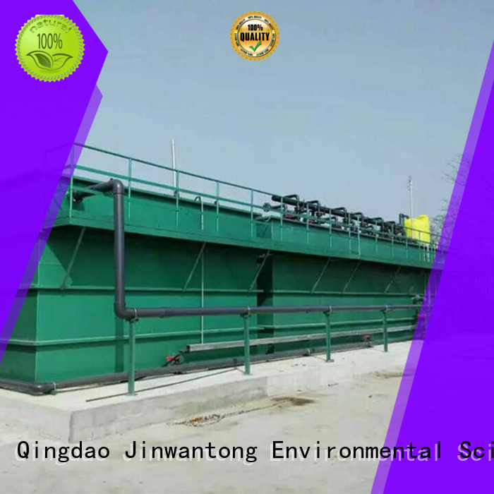Jinwantong convenient wastewater treatment from China for paper industry