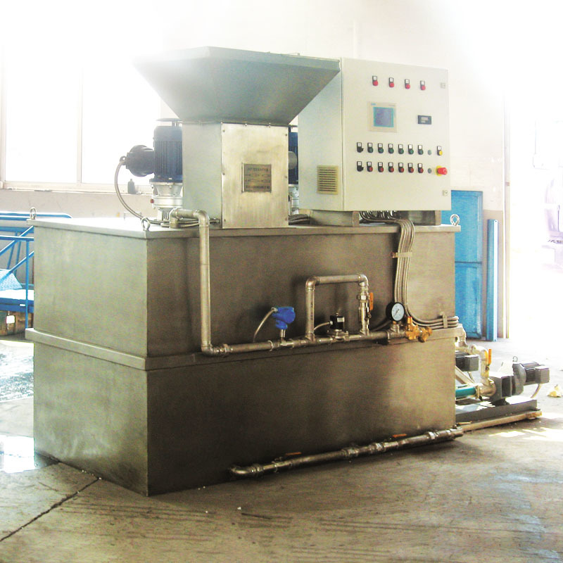 Chemical Dosing Machine for industrial waste water treatment