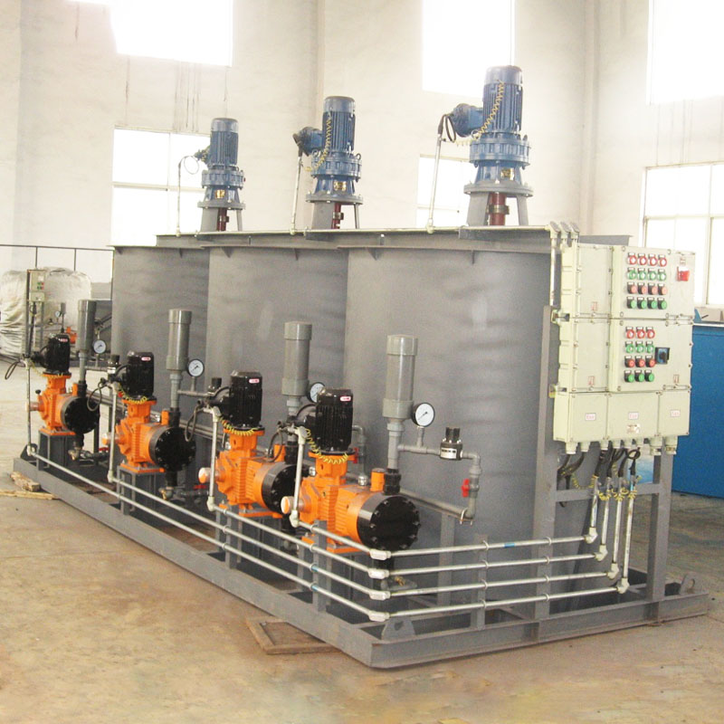 Jinwantong New chemical dosing system supply for powdered and liquid chemicals-1