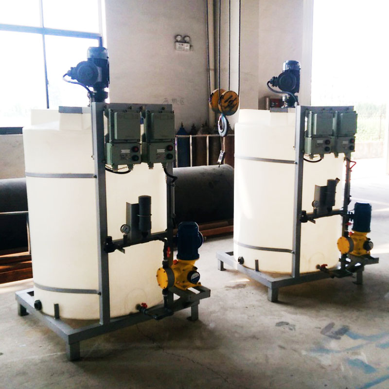 Jinwantong New chemical dosing system supply for powdered and liquid chemicals-2