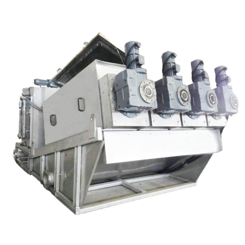 top dewatering machine for sludge treatment for business for solid-liquid separation-1