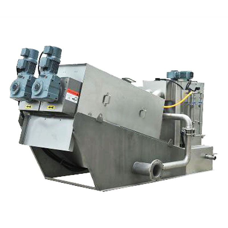 top dewatering machine for sludge treatment for business for solid-liquid separation-2