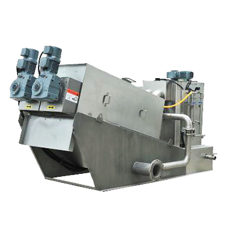 real dewatering machine for sludge treatment company for wineries