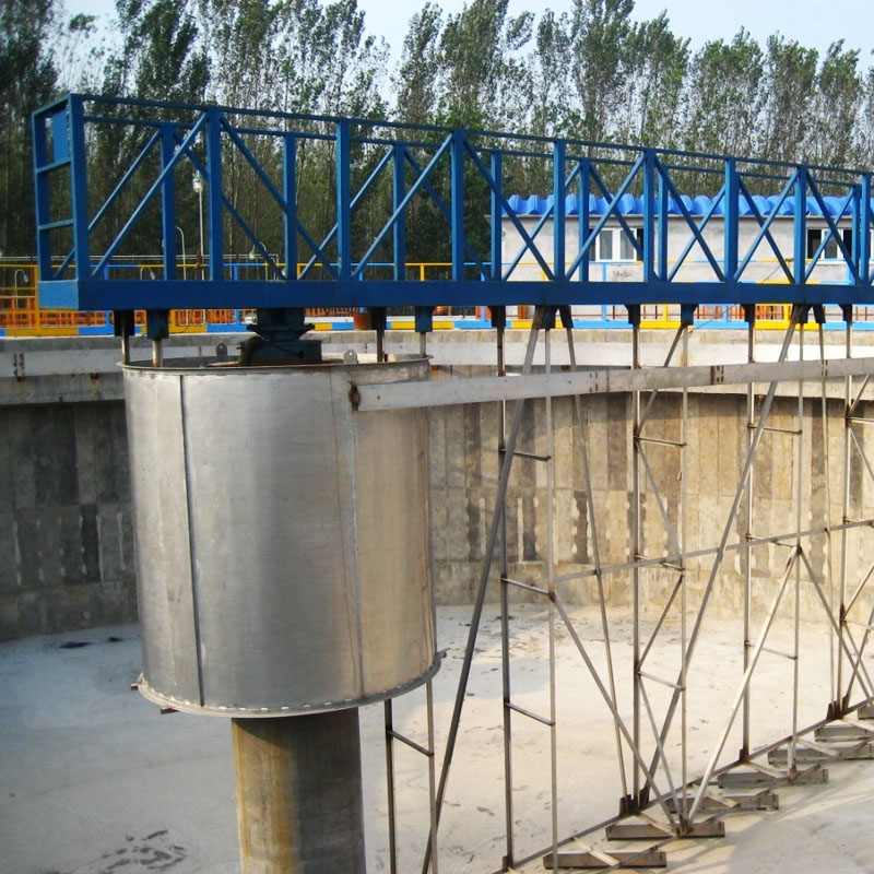 real bottom sludge scraper manufacturers for primary clarifier-1