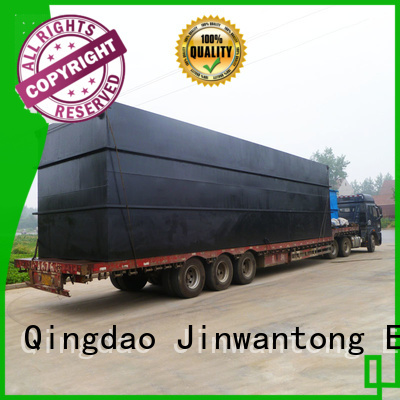 Jinwantong package sewage treatment plant suppliers factory for hospital