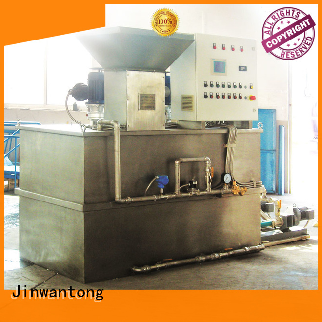 Jinwantong chemical dosing system manufacturer factory for powdered and liquid chemicals