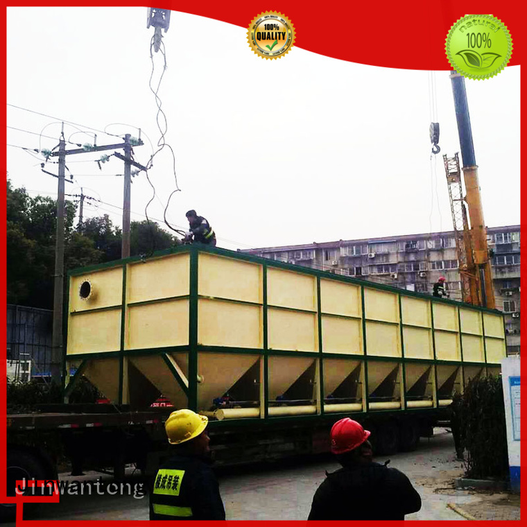 Jinwantong durable lamella clarifier design directly sale for chemical waste water
