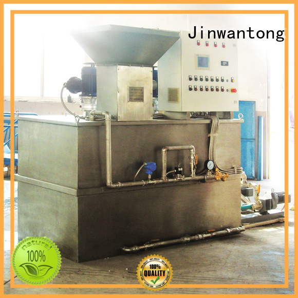 Jinwantong chemical dosing system wholesale for powdered and liquid chemicals