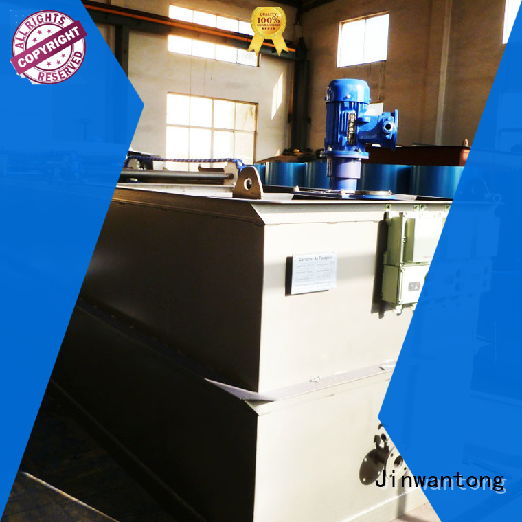 Jinwantong professional Wastewater Treatment Plant Equipment series for oil remove