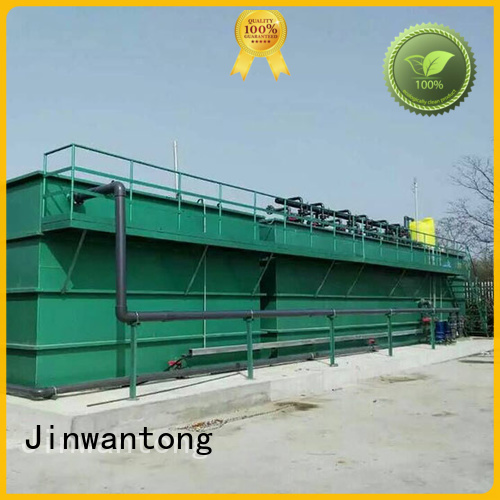 Jinwantong stable industrial wastewater treatment customized for paper industry