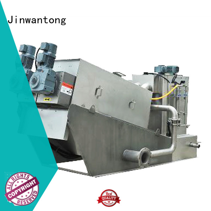 Jinwantong sludge dewatering equipment wholesale for solid-liquid separation