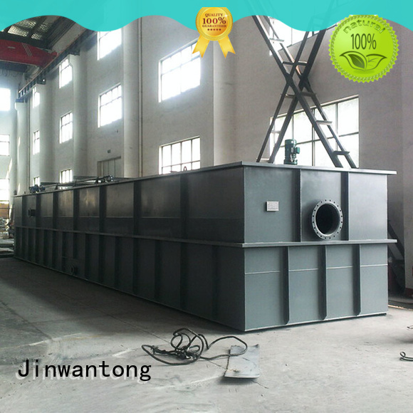 Jinwantong dissolved air flotation design directly sale for slaughterhouse