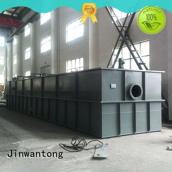 Jinwantong dissolved air flotation design directly sale for slaughterhouse