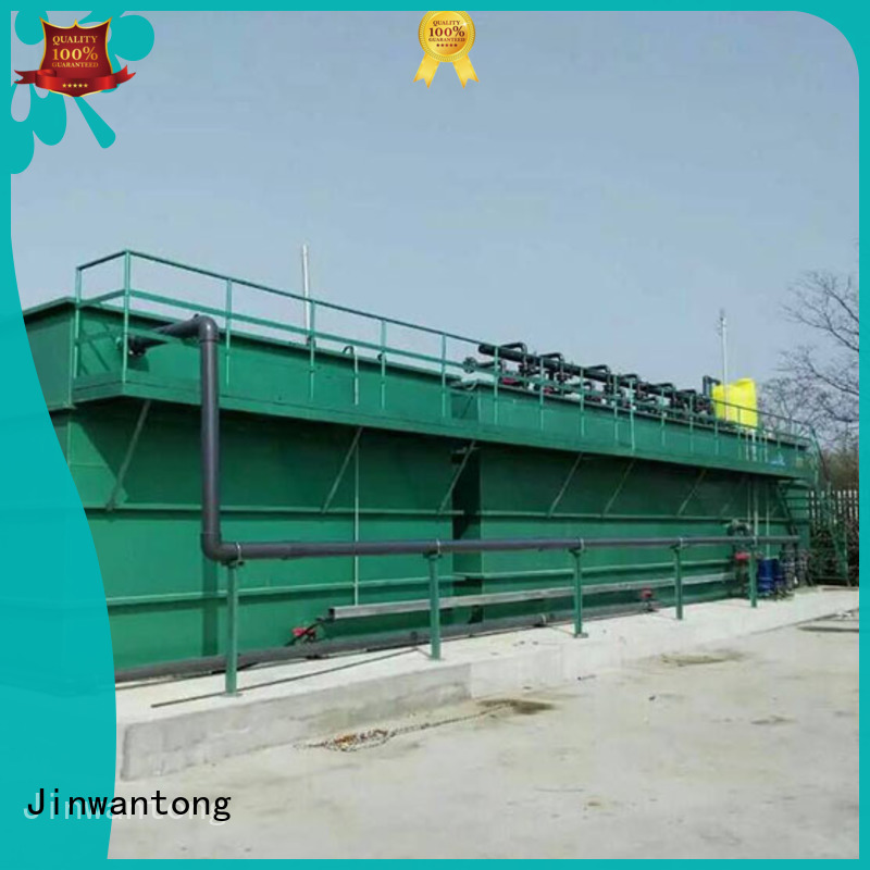 Jinwantong stable wastewater treatment plant design with good price for food industry