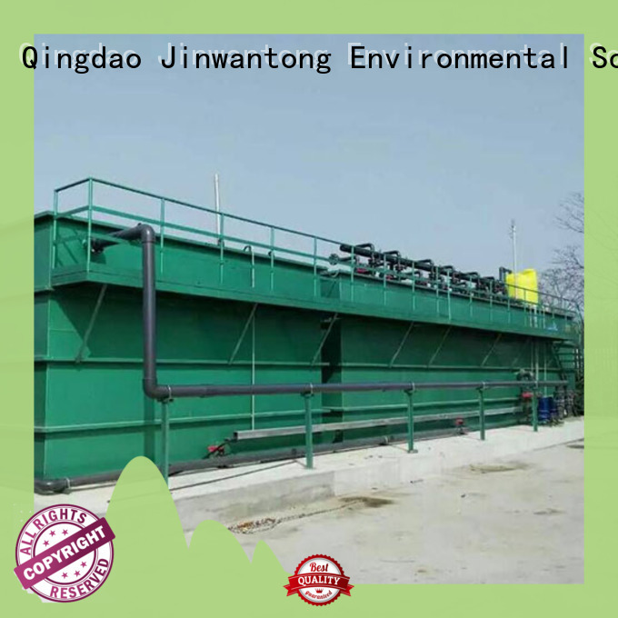 industrial wastewater treatment plant directly sale forpharmaceutical industry Jinwantong