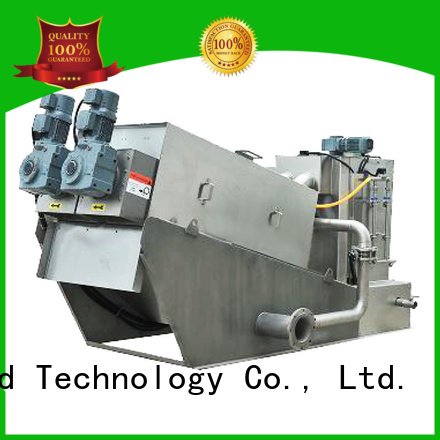 Jinwantong sludge dehydrator system from China for solid-liquid separation