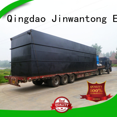 Jinwantong professional sewage treatment plant design directly sale for hospital