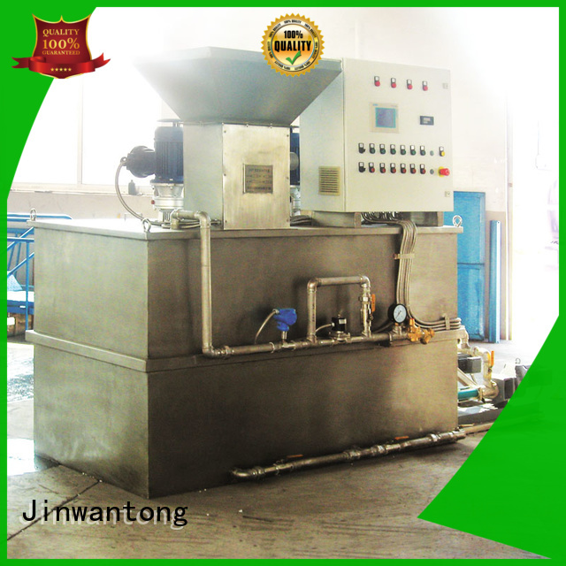 Jinwantong chemical dosing unit factory for powdered and liquid chemicals