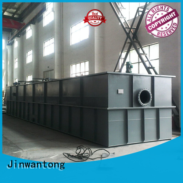 Jinwantong cost-effective daf wastewater supplier for food processing