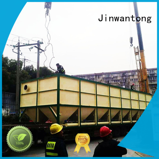 inclined plate settler theory for heavy metal remove Jinwantong