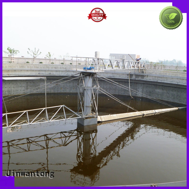Jinwantong central drive sludge scraper customized for primary clarifier