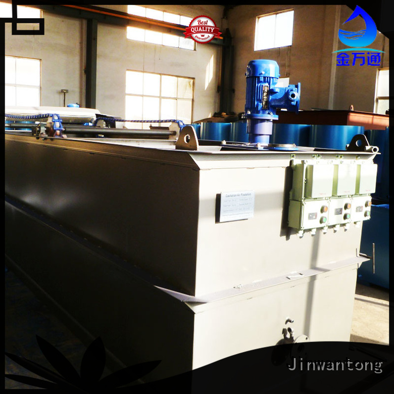Jinwantong cavitation air flotation directly sale for oil remove
