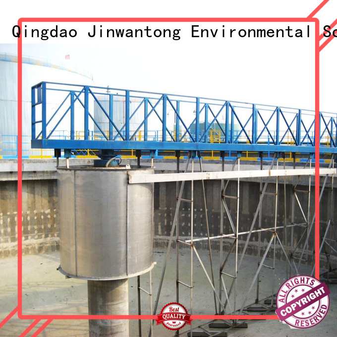 Jinwantong light weight sludge scraper system manufacturer for primary clarifier
