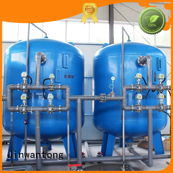Jinwantong low cost sand filter design with good price for alga removal