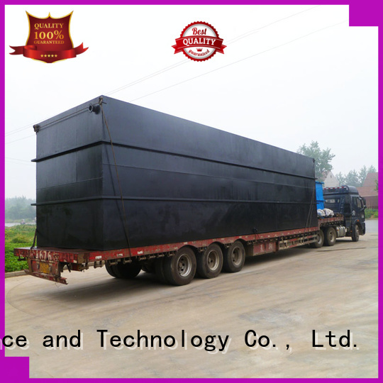 professional package sewage treatment plant wholesale for oilfield labor camp