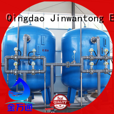 Jinwantong pressure sand filter with good price for grit removal
