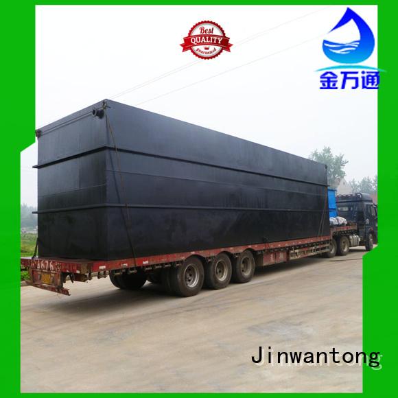 Jinwantong convenient effluent treatment plant directly sale for hotel