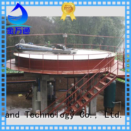 circular circular daf clarifier supplier for fiber recovery