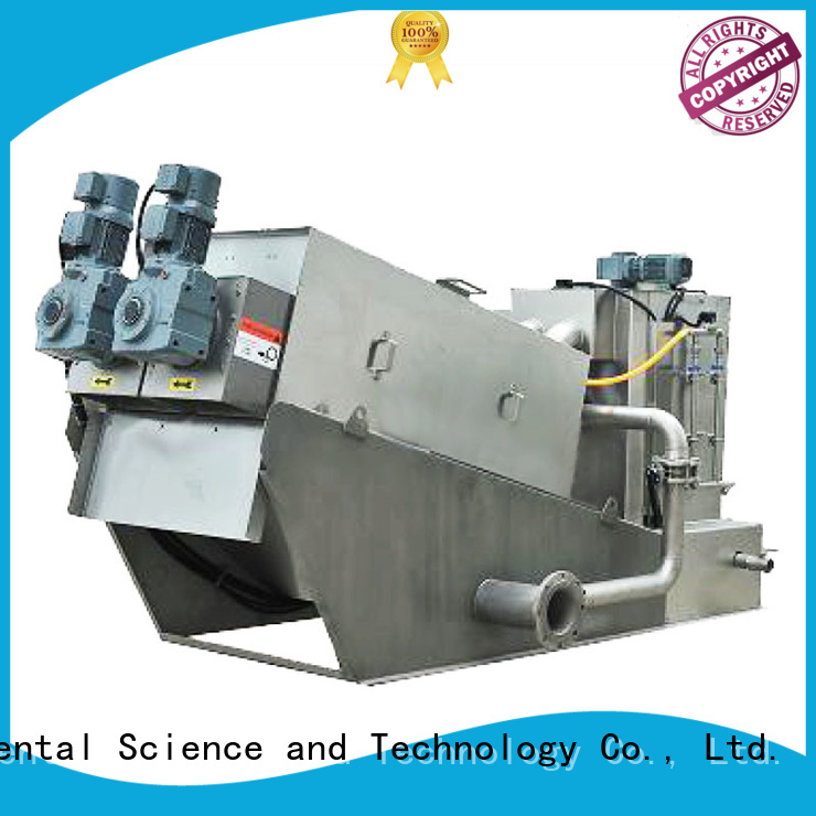 low cost sludge dewatering manufacturer for solid-liquid separation