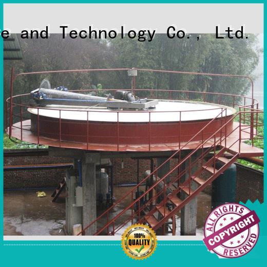 Jinwantong dissolved air flotation clarifier supplier for tanneries