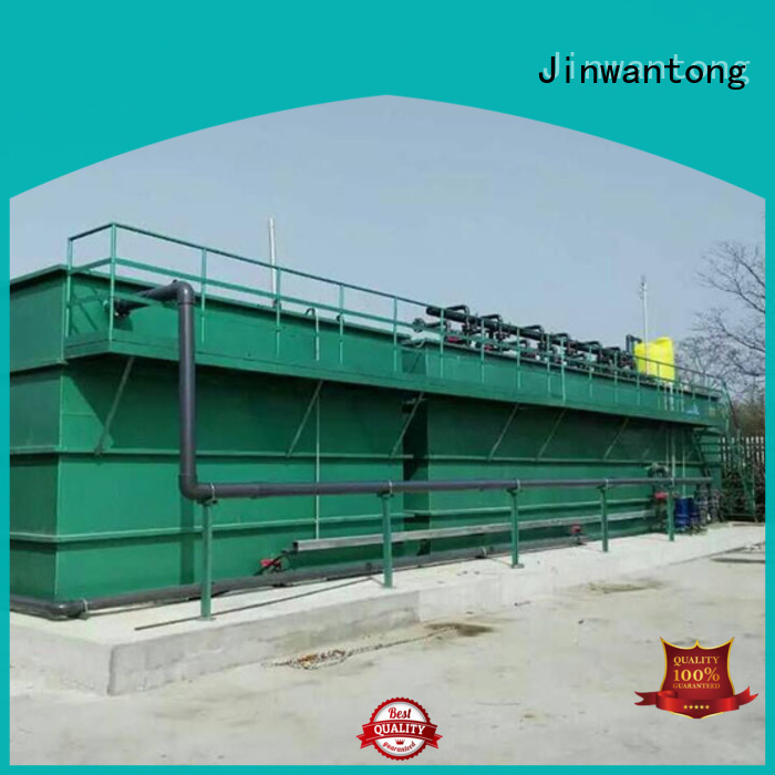 convenient types of wastewater treatment plants directly sale for paper industry