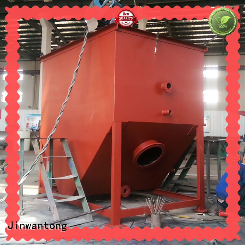 Jinwantong high efficient oil water separator manufacturers directly sale fpr refinery effluents