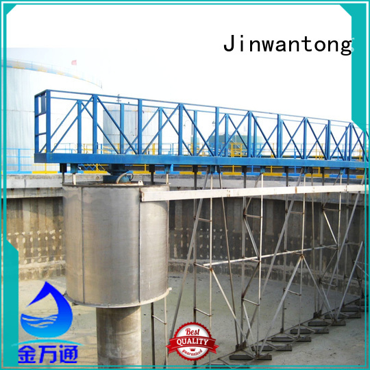 Jinwantong light weight central drive sludge scraper customized for primary clarifier