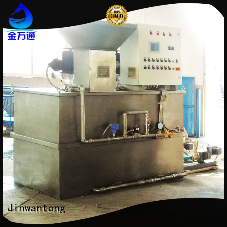 automatic flocculant dosing system factory for powdered and liquid chemicals