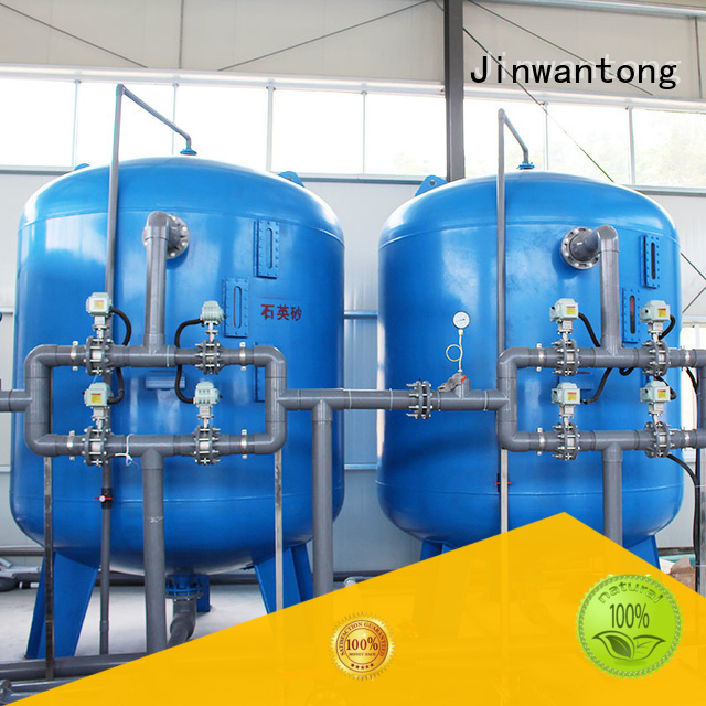 Jinwantong high effecient pressure sand filter customized for grit removal