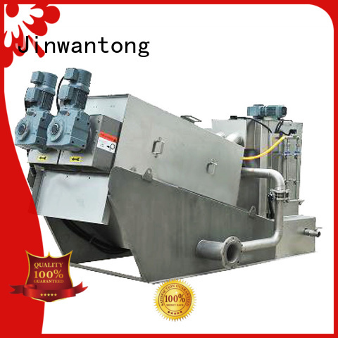Jinwantong efficient sludge dewatering equipment with good price for solid-liquid separation