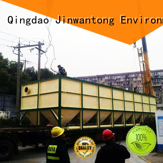 Jinwantong inclined plate settler factory price for chemical waste water