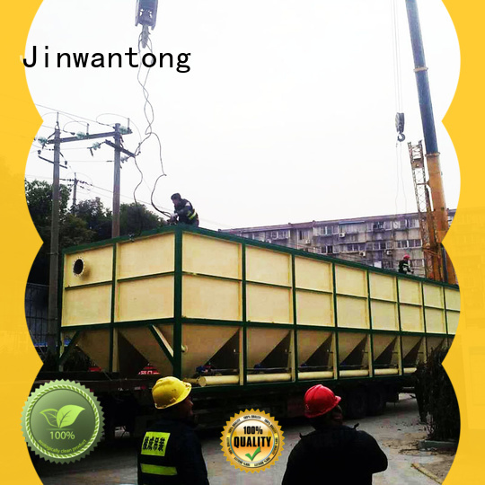 Jinwantong efficient waste water treatment plant manufacturer from China for heavy metal remove