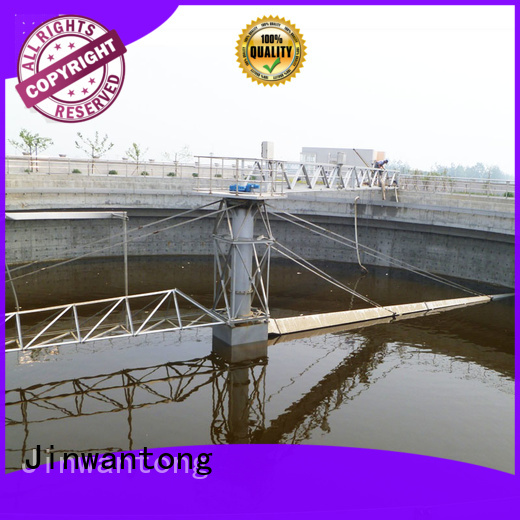 Jinwantong light weight peripheral drive sludge scraper with good price for primary clarifier